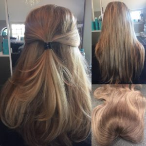 V-Part + 50 losse hairextensions voor extra volle bos haar