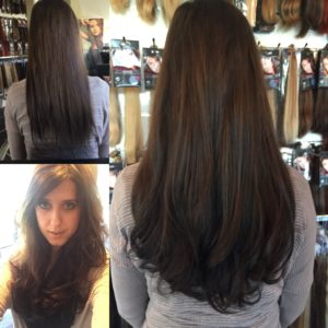 V-Part & Tape Extensions voor extra volle bos haar.