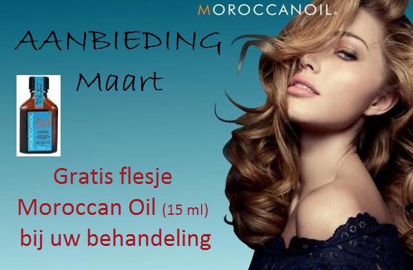 Aanbieding Villa Capelli maart: gratis moroccan oil